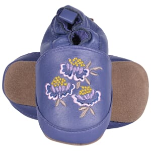 Leather shoe Embroidery Flowers - Melton