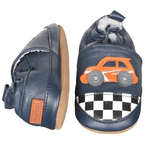 Leather shoe Race Car - Melton