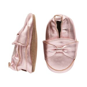 Leather shoe Bow - Melton