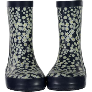 Rubber Boots Alpha ink flowers - Wheat