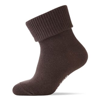 Baby Socks ABS Brown - Melton